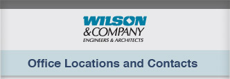 Wilson & Company, Inc., Engineers & Architects Locations