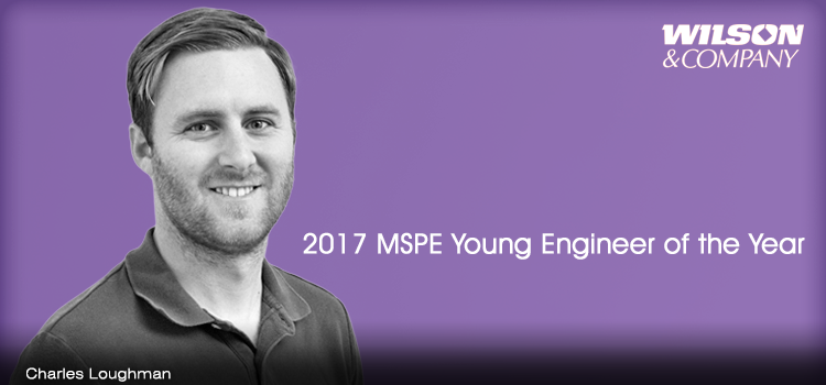 Charles Loughman named 2017 Young Engineer of the Year