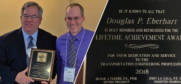 Doug Eberhart Awarded the ITE Colorado/Wyoming Section 2018 Lifetime Achievement Award