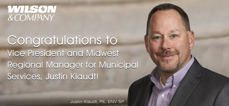 Justin Klaudt Promoted to Vice President