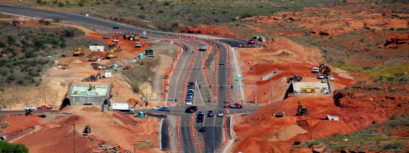 SR-18 Bluff Street and Red Hills Parkway Interchange - St. George, UT