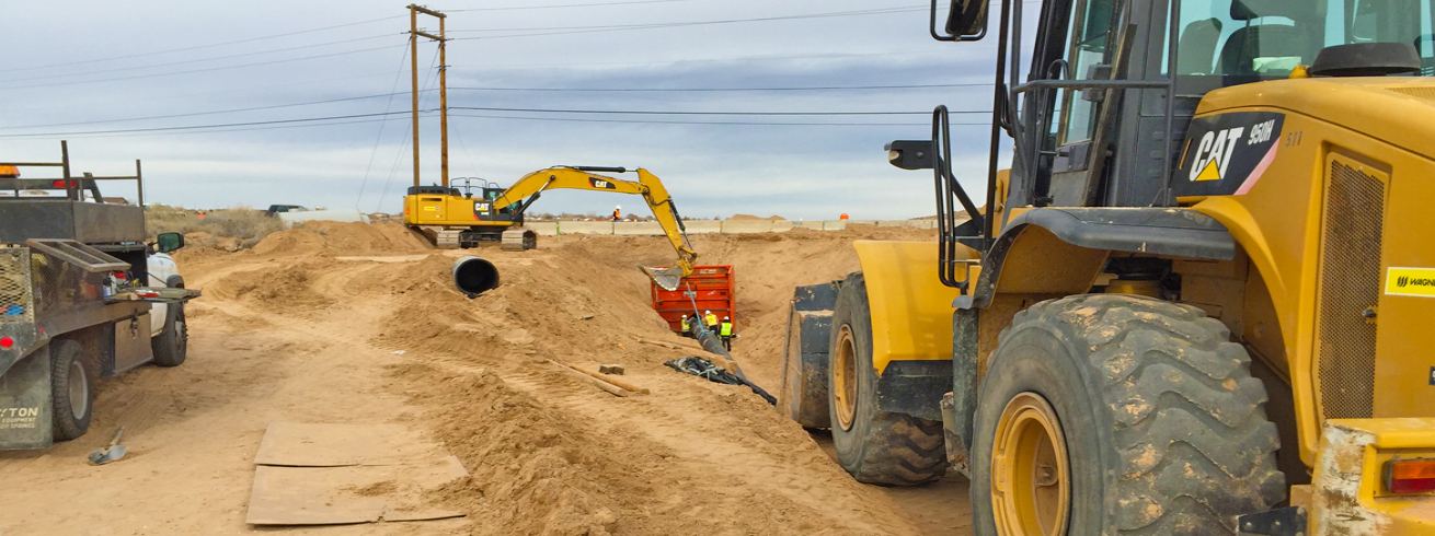 Construction Management and Oversight for Montoyas Arroyo Sanitary Sewer Improvements Project